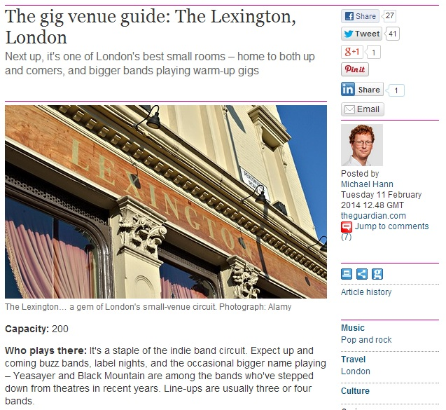 LEXINGTON GUARDIAN