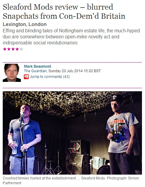 sleaford mods lexington guardian