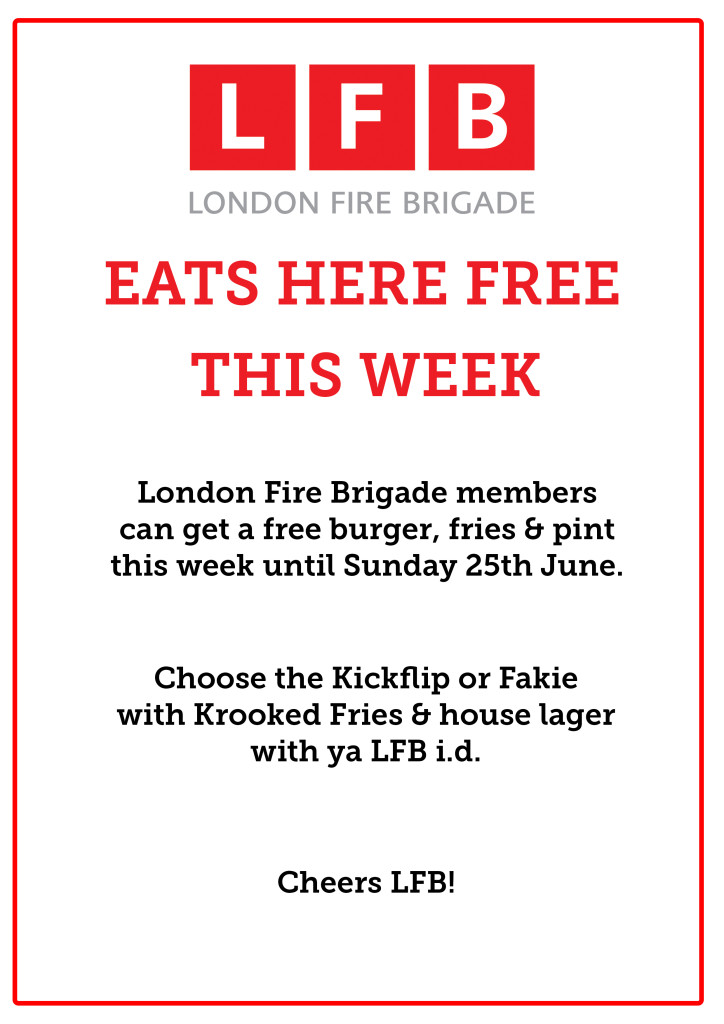 GB LFB Burger promo copy
